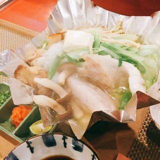 クエ鍋(あさひ寿し )