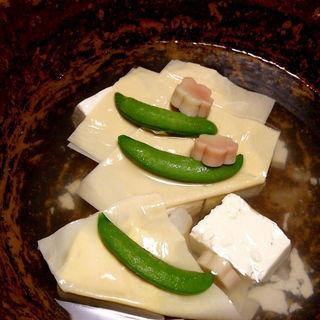 湯豆腐のコース(梅の花 京都烏丸店 (ウメノハナ))