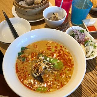 担々麺セット(浪曼路)