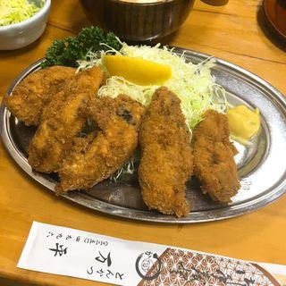 カキフライ定食(とんかつ 万平 (とんかつ・まんぺい))