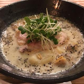 グラムチャウダー麺(麺屋シマフクロウ )