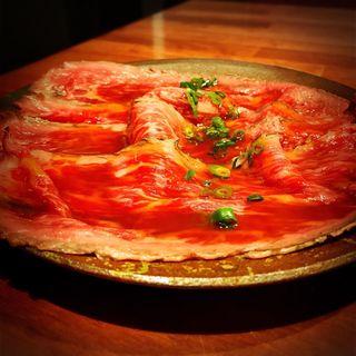 ローストビーフ(代官山 焼肉かねこ )