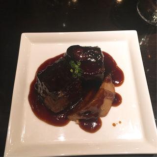 スペアリブの黒酢炒め(飄香 銀座三越店)