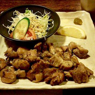 鶏の炭火焼定食(かるぼなぁど )