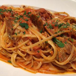 ワタリガニのトマトクリームスパゲティ(俺のフレンチ・イタリアン AOYAMA )