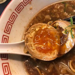味玉(中華そば 焼きめし かたぶつ食堂)
