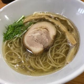 鶏と煮干しの塩らーめん(ラーメン HARU)