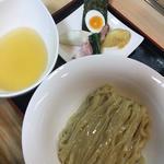 ヒイラギ煮干100%のつけ麺