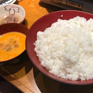 〆の雑炊(丸秀鮮魚店)