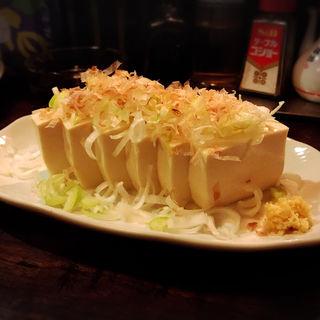 冷奴(久慈清商店 (くじせいしょうてん))
