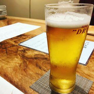 生ビール(ととふく)