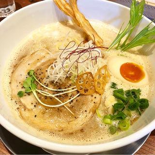 豚だしらぁ麺(ふじ門製麺)