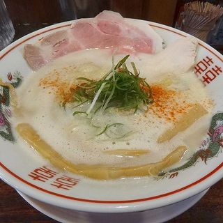 クリーミー鶏soba 塩(おれ流ラーメン鶏さき麺いち)