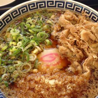 肉ラーメン(製麺屋慶史直営 まる麺西月隈 (せいめんやけいしちょくえい まるめんにしつきくま)) )