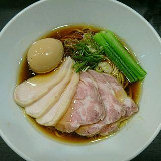 特製芳醇鶏そば(醤油)(麺や福はら)