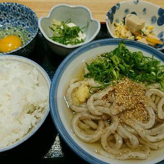 朝定食(讃く)