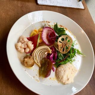 パスタ料理のセット(シチニア食堂 )