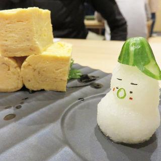 お寿司屋さんの出汁巻き玉子(茶碗蒸し本舗 稲穂)