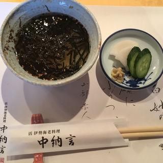伊勢海老のお茶漬け(中納言 神戸プラザホテル店 (ちゅうなごん))