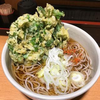 春菊そば(越後そば 東陽町店 )