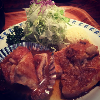 コンビ(伊坂煮、ガーリックチキン)(ローマの太陽 二本松店 )