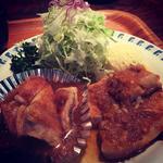 コンビ(伊坂煮、ガーリックチキン)