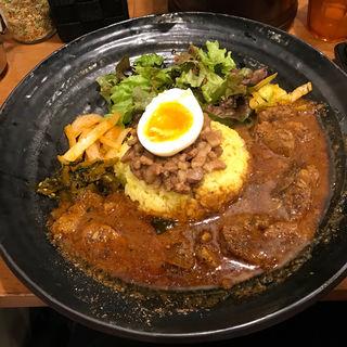ろかプレート(ラムカレー選択)(Spicy Curry 魯珈)