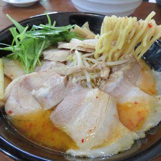 チャーシュー味噌らぁめん(らぁめん 高砂家 (ラァメン タカサゴヤ))