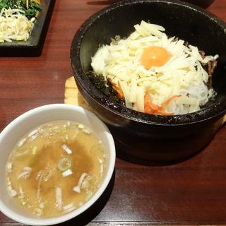 石焼チーズビビンバ(吾照里 横浜東口ポルタ店 (オジョリ))