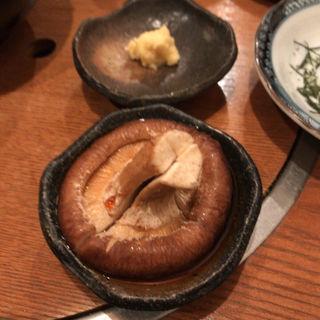 しいたけ 蒸しポン酢(いろり家 別邸)