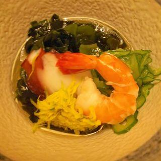 酢の物(磯料理 玄海)