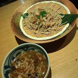 濃厚魚介岩のりつけ麺(スワンレイク パブ エド 修蔵 新宿店)