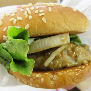 根菜鶏つくねバーガー(ドムドムハンバーガー 笹丘店 )