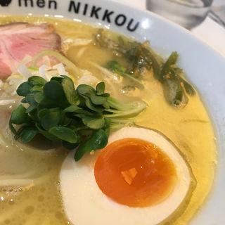 鶏白湯(塩)(ラーメンニッコウ (la-men NIKKOU))
