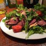鴨とフォアグラのサラダ