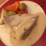 デイリーランチ(鶏ムネ肉のヴァプーレ トンナートソース)(リガリド (Regalido))