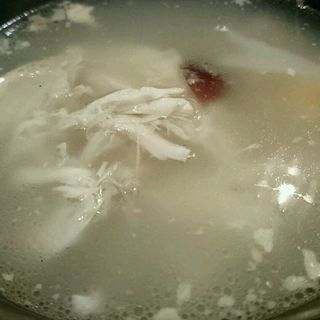 参鶏湯(anju sachi)