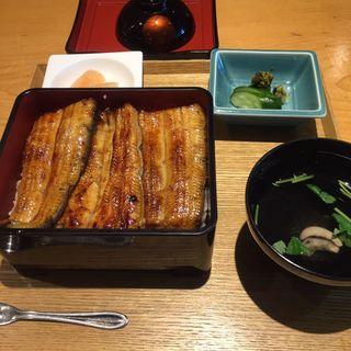 うな重 特上(駒形 前川 新丸の内ビル店 (こまがた まえかわ))