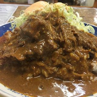 カツカレー(レストランばーく )