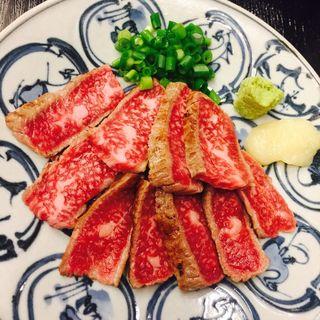 牛タタキ(かねまん 大井店 )