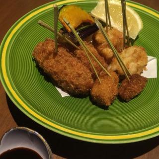 肝三種フライ(和食居酒屋 旬門 米子本店)