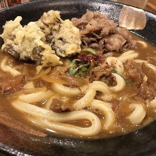 肉カレーうどん(うどん酒場 釜たけ流うどん一寸一杯 )