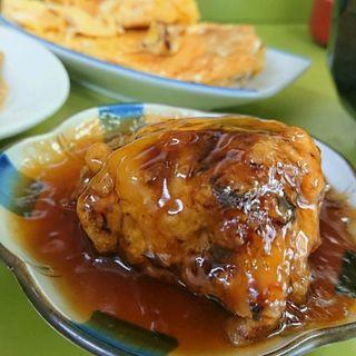 総菜三品、ライス、味噌汁(千草 )