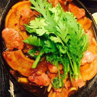 馬肉のすき焼き(かねまん 大井店 )