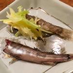 メヒカリの梅煮と南蛮漬け(コノ花まひろ )