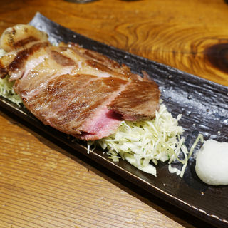 ロースステーキ(ぶためし山ぶた )