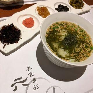 スペシャル茶漬け(六ヶ城 (ろっかんじょう))