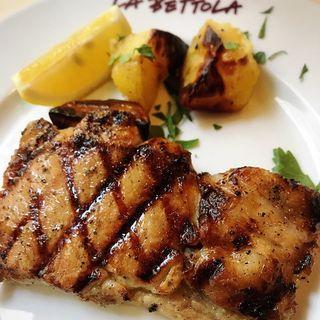 豚肉の燻製ロースト(ラ・ベットラ・ダ・オチアイ)