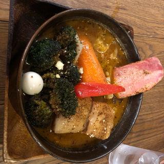 角煮カレー(スープカレーGARAKU (ガラク))