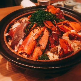 海老びの炊き込みご飯